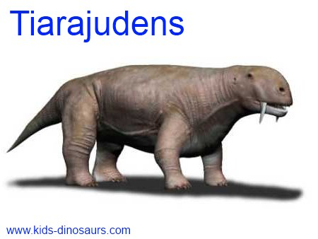 Tiarajudens - saber tooth dinosaur