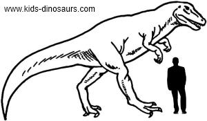 Allosaurus Dinosaur Size