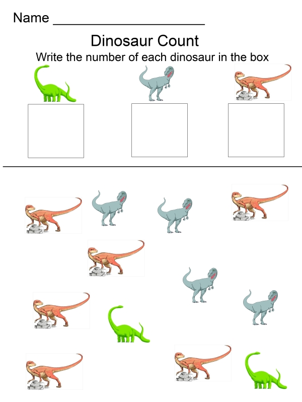 Worksheets For Dinosaurs : Dinosaur activities for kids