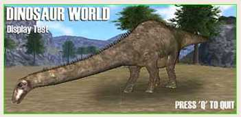 Dinosaur Computer games for Kids - Dinosaur World from the BBC