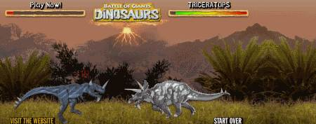 Online Dinosaur Games - Battle of Giants