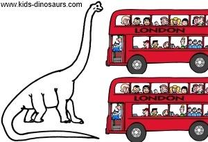 Brachiosaurus Dinosaur Size