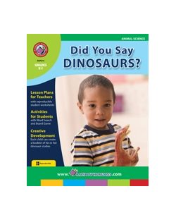 Dinosaur Lesson Plan