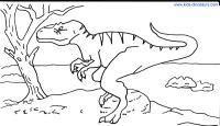 Giganotosaurus Dinosaur Coloring Sheets