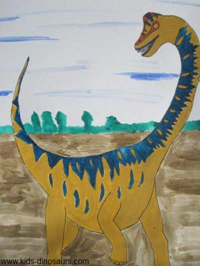 Dinosaur Illustrations - Brachiosaurus