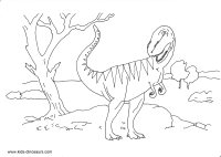 Tyrannosaurus Rex Coloring Sheet