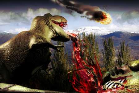 Dinosaur Extinction for Kids - Asteroid