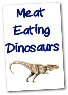 Dinosaur Printable - Carnivore Booklet